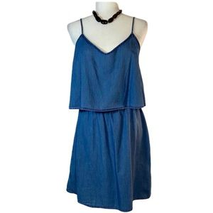 Old Navy Denim Spaghetti Strap Casual Dress